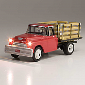 Woodland Scenics 5595 HO Heavy Hauler - Just Plug(R) Lighted Vehicle - Red