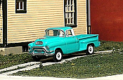 Sylvan Scale Models 316 HO Scale - 1955-56 GMC 1/2 Ton Pickup - Unpainted and Resin Cast Kit