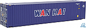 Walthers 8574 HO SceneMaster - 45 Ft CIMC Container - Assembled - Wan Hai