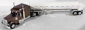 Trucks n Stuff 60116 HO Freightliner Coronado Mid-Roof Tractor w/Propane Tank Trailer - Gary Cab