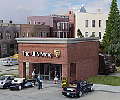 Walthers Cornerstone The UPS Store HO scale