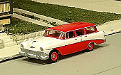Sylvan Scale Models 297 HO Scale - 1956 Chevy 210 Four Door Station Wagon - Unpainted and Resin Cast Kit