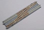 Kato Unitrack 20231 - N Scale Double-Track Crossover - Right Hand Unitrack