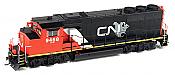 Athearn Genesis G40909 HO Scale GP40-2L, CN/North America #9551 DCC Ready 140-G40909