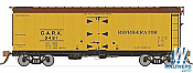Rapido Trains 121054-1 37ft General American Meat Reefer GARX 4Pack No.3492