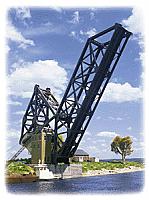Walthers 3070 HO Cornerstone Operating Single-Track Railroad Bascule Bridge