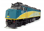 Rapido Trains 82503 HO Scale  - Rebuilt F40PH-2D – VIA Renaissance  #6428 -  DCC & Sound