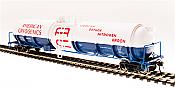 Broadway Limited 6313 - HO Cryogenic Tank Car - American Cryogenics (2pkg)