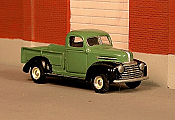 Sylvan Scale Models 246 HO Scale - 1946-47 Mercury Mercury 1/2 Ton Pickup - Unpainted and Resin Cast Kit