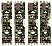 NCE 107 Decoder HO Scale DA-SR 4 Pack