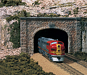 Woodland Scenics 1157 N Scale Cut Stone Double Track- Tunnel Portals