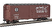 Walthers HO 1315 Mainline 40 Ft Association of American Railroads 1944 Boxcar - Santa Fe #139166