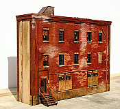 ITLA ScaleModelsInc HO 4152 Industrial Building D Kit , Shadow Relief