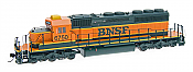 Intermountain Railway Diesel EMD SD40-2 DCC & Sound Burlington Northern & Santa Fe #6735