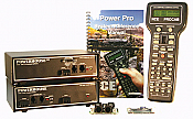 NCE  Digital Command Control Starter Sets for 0/G scale- PH-PRO-R Powerhouse Pro w/916 MHz Radio & RB01 Base Station - 10 amps