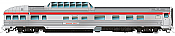 Rapido Trains Budd Passenger Car Park Dome-lounge-sleeper-Observation Cars CP Rail 4 Car Numbers