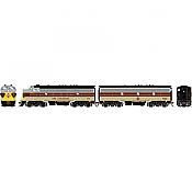 Athearn Genesis 19557 - HO F7A/F7B EMD - DCC & Sound - Erie Lackawanna/Freight #6111/#6352