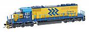 Intermountain Railway HO 49343S-01 SD40-2 DCC & ESU Sound - Ontario Northland ONR # 1732