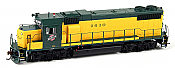 Athearn Genesis HO G65446 GP38-2, Chicago and Northwestern (Original Yellow) #4627 DCC & Sound