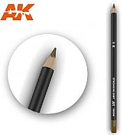 AK Interactive 10030 - Weathering Pencils - Streaking Dirt (5/Box)