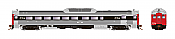Rapido Trains 16230 - HO Budd RDC-2 - PH2 - DC - Canadian National #6205