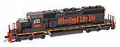 Intermountain Railway 49357S-03 HO EMD SD40-2 w/DCC  & Sound ESU  LokSound- Wheeling & Lake Erie 6353