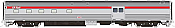 Rapido 114007 HO Scale - Budd Baggage-Dorm Action Red Scheme - CP Rail #607