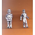 Juneco Scale Models C-108 - 1890 Cop and Telegrapher - 2 Unpainted Figures