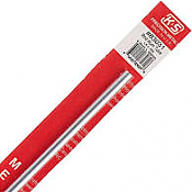K&S Engineering 83031 All Scale - 1/4 inch OD Round Aluminum Tube - 0.035inch Thick x 12inch Long