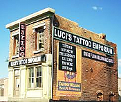 Downtown Deco N Scale - Luci s Tattoo Emporium - Kit
