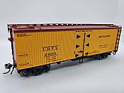 Rapido Trains 121061-2 - HO 37ft General American Meat Reefer - Union Refrigerator Transit (URTX) #63065