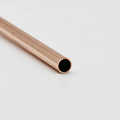 K&S Engineering 8117 All Scale - 1/16 inch OD Round Copper Tube 0.014inch Thick x 12inch Long (3 pkg)
