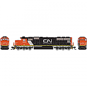 Athearn 3058 - N SD70 - DCC/Ready - Canadian National/IC #1037