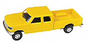 Trident Miniatures 900784 HO Trucks - Ford F-350 Crew Cab Pick-Up - Yellow