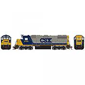 Athearn HO G40832 Diesel EMD GP38-2 DCC & Sound  CSX #2743