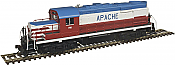 Atlas Trainman 10002661 - HO RS-36 - DCC/Sound (ESU) - Apache #900