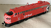 Rapido Trains 222015 - HO GMD FP7 - DC/Silent - CP Rail Action Red (5 in Stripes) #4031