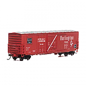 Athearn RTR 89326 HO Scale - 50Ft Combo Door Box - FW&D #5017