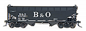 Intermountain Railway 47158-01 HO AAR Alternate Standard 2-Bay Hoppers  - Baltimore and Ohio 52030