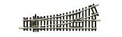 Peco HO Code 100 ST 241 No.2 Radius, Left Hand Turnout, Insulfrog