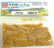 Peco PSG-609 - 6mm Static Grass - Hay Field (20g)