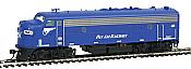Intermountain Railway Diesel EMD FP9 DCC Pan Am Railways PAR #2 (Dark Blue and White) 85-49979-02