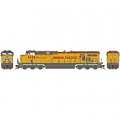 Athearn G83183 - HO Scale ES44AC DC/DCC/Sound Diesel - UP No Flag #5293