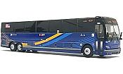 Iconic Replicas 870224- 1:87 X3-45 Suburban MTA New York City