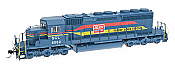 Intermountain Railway Diesel EMD SD40-2 DCC Installed SCL - Family Lines #8041