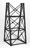 Micro Engineering 75169 - HO Tall Steel Viaduct Tower - Two 3-Story Bents - Kit