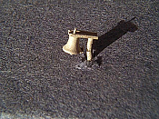 Miniatures By Eric B20 HO Scale parts - Brass RS11 RS18 Bell