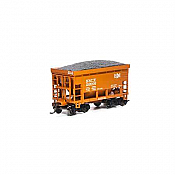 Athearn RND87132 HO - 24Ft Ribbed Ore Car w/Load - B&LE #20620