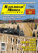 Railroad Model Craftsman Magazine September 2013