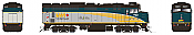 Rapido 82020 HO F40PH 2D VIA Rail - Rebuilt - Renaissance- No # DCC Ready - Taking Orders Now